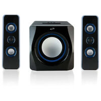 iLive 2.1-Ch Wireless Stereo Speaker System with Subwoofer & Bluetooth