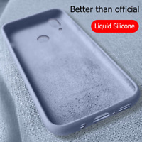 For Huawei P Smart Plus 2019 Z Shockproof Soft Liquid Silicone TPU Case Cover