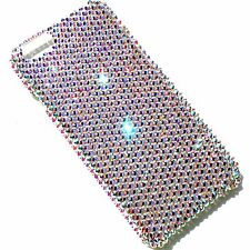 "For iPhone 7 (4.7"") 16ss Crystal AB Bling Rhinestone Back Case made w/ Swarovski"