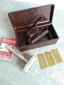 Vintage VALET Auto Strop Safety Razor Made in England Bakelite Boxed