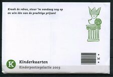 Nederland 2003 Blokje 2211 Kind in envelop met kinderkaarten