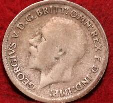 1930 Great Britain 6 Pence Silver Foreign Coin