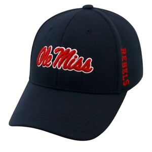 "Ole Miss Rebels NCAA TOW ""Booster"" Memory Fit Hat"
