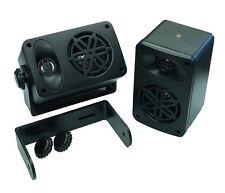 Coppia diffusori da interno o  esterno con staffe incluse casse altoparlanti