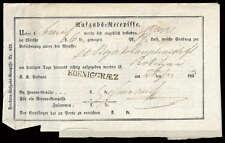 """Österreich, """"KÖNIGGRAETZ"""", klarer L1 auf Aufgabs-Recepisse Brief (1686012947)"""