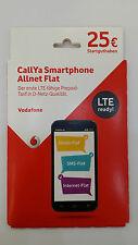 Vodafone Callya EU Allnet Flat Prepaid SIM-Karte Travel Sim für Europa 4G 2GB
