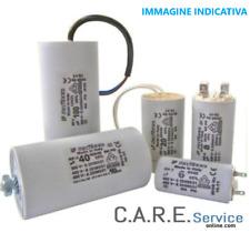 Condensatori 450V da 1,0 mF a 150 mF attacchi con faston e vite di serraggio