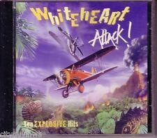 WHITEHEART Attack Ten Explosive Hits 1991 Star Song CD Gospel Rock White Heart