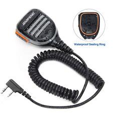 Impermeable 2Pin Altavoz Micrófono para Walkie Talkie Baofeng UV-5R DM-5R BF-888S