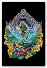 Musical Frog Non-Flocked Blacklight Drug Marijuana Poster 24x36