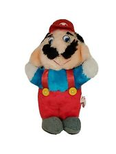 "Vintage Rare 1988 MARIO.ACME Nintendo Super Mario Bros. Plush Stuffed 10"""