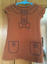 Baby Girls Brown Tunic Top Size 3-6 Months