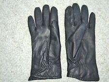 New listing Vtg Woman'S Black Leather Gloves