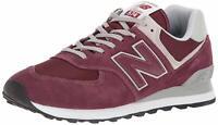 New Balance 574v2 Core, Sneaker Uomo - ML574EGB BURGUNDY SCARPA
