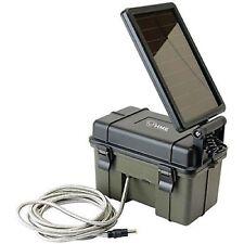 New HME Trail Camera 12V/ Solar Auxiliary Power Pack HME-12VBBSOL