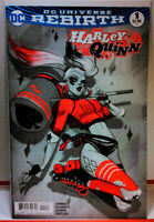 HARLEY QUINN (2016) #1 BABS TARR FRIED PIE B&W SKETCH VARIANT VF VF+ Rebirth
