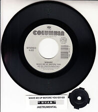 """WHAM Feat. GEORGE MICHAEL Wake Me Up Before You Go-Go 7"""" 45 rpm record NEW"""