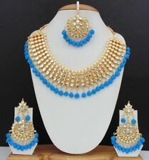 Indian Bridal Party Wear Fashion Bollywood Necklace Choker Jewelry Set FD66