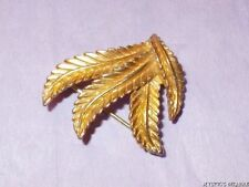 Gold Vintage Costume Jewellery without Bead/Stone (1960s)
