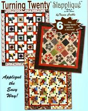Turning Twenty Slapplique Book 6 Quilt Patterns by Tricia Cribbs  Friendfolks
