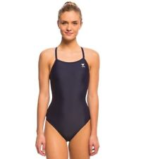 TYR SPORT Women's Durafast Elite Solid Maxfit One Piece Swimsuit (Size 36)