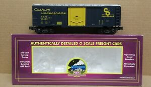 MTH Premier 20-94011 Chesapeake & Ohio Reefer Car O-Gauge NOS
