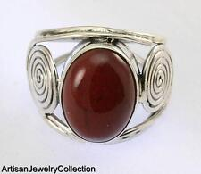 MAHAGONI OBSIDIAN SIZE 8.5 RING 925 SILVER ARTISAN JEWELRY COLLECTION R049