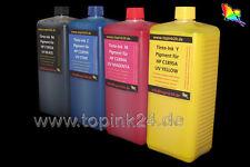 4 0,5L Nachfüllset UV Tinte für HP Designjet C1892A C1893A C1894A C1895A Pigment