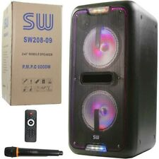 Bluethooth speakers w micrphone Ready For Summertime Karaoke Starting At $149.99