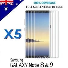 5X Curved Full Coverage Screen Protector Film For Samsung Galaxy Note 8 9