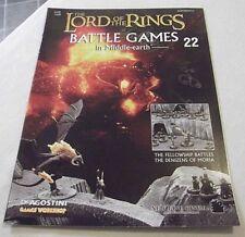 Señor De Los Anillos Juegos de batalla en la emisión 22 de la revista de tierra media