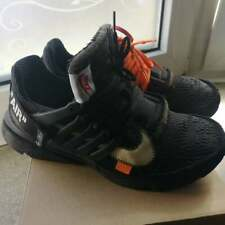 The Ten: NIKE Air Presto OFF WHITE BLACK Sneaker US 9 UE 42.5 AUTHENTIC