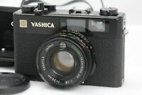 [NEAR MINT]  Yashica Electro 35 CC Black Rangefinder Film Camera from Japan A407
