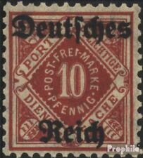 Duitse Rijk D53 gestempeld 1920 Württemberg Issue