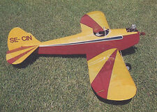 Giant 1/4 Scale Bowers Fly Baby Plans, Templates and Instructions 84ws