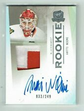 09-10 UD Upper Deck The Cup  Antti Niemi  /249  Auto  Patch  Rookie  KHL