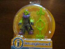 Fisher-Price Imaginext Monsters Monster Alien brain eraser staff cape martian