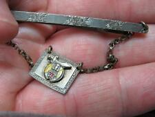 Shriner Charm Tie Bar Vintage Fraternal  (17D1)