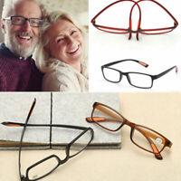 Glasses Strength +1.00 - +4.00 Flexible Presbyopic Ultra Light Reading Glasses