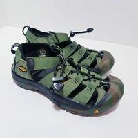 Keen Waterproof Newport H2 Sandals Water Shoe Size 3 Camo Green 1014259