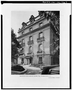 Clarence Moore House,1746 Massachusetts Avenue Northwest,Washington,DC,HAB 6214