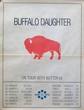 BUFFALO DAUGHTER POSTER, TOUR WITH BUTTER 08 (E5)