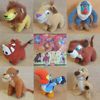 McDonalds Happy Meal Toy 1998 Walt Disney Lion King Movie Cuddly Toys - Various