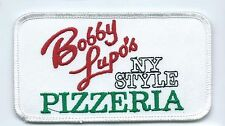 Bobby Lupos Pizzeria NY Style employee patch 2-1/2X4-1/2 Harker Heights TX