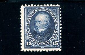 USAstamps Unused FVF US 1895 Bureau Issue Clay Scott 274 OG MHR