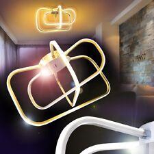 LED Lámpara de techo diseño moderno con anillos salón cocina pasillo dormitorio