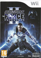 STAR WARS THE FORCE UNLEASHED II (2) for Nintendo Wii - with box & manual - PAL