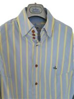 Mens MAN by VIVIENNE WESTWOOD long sleeve shirt size V/large.Immaculate RRP£260.