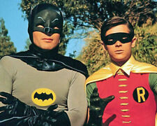 TV Show BATMAN Glossy 8x10 Photo Poster Adam West and Burt Ward (Robin) Print