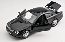 Blitz envío Mercedes Benz CL 600 negro/Black Welly modelo auto 1:24 nuevo